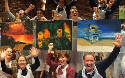 Boek nu jullie schilderworkshop !